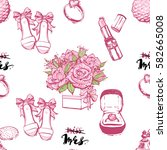wedding patches illustration