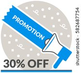 promotion   infographic icon...