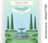 Welcome To City Garden Poster...