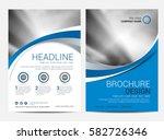 brochure template flyer design... | Shutterstock .eps vector #582726346