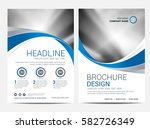 brochure template flyer design... | Shutterstock .eps vector #582726349