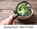 concept of pesticide detection... | Shutterstock . vector #582727360