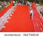 blurred image. red carpet... | Shutterstock . vector #582730018