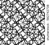 vector seamless pattern ... | Shutterstock .eps vector #582742738