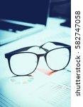 personal financial planning... | Shutterstock . vector #582747058