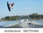 vaal river  south africa   2... | Shutterstock . vector #582751360