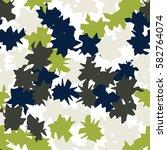 seamless pattern. ragged spots. ... | Shutterstock .eps vector #582764074