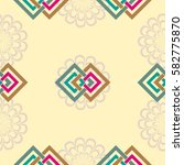 endless abstract pattern.... | Shutterstock .eps vector #582775870
