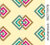 endless abstract pattern.... | Shutterstock .eps vector #582775978