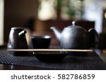 serving in eastern restaurant ... | Shutterstock . vector #582786859
