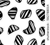 organic shapes seamless pattern.... | Shutterstock .eps vector #582788014
