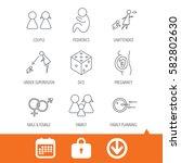 pregnancy  pediatrics and... | Shutterstock .eps vector #582802630