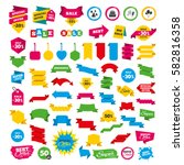 web banners and labels. special ... | Shutterstock .eps vector #582816358