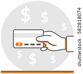 card payment   infographic icon ...