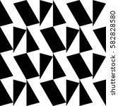 seamless geometric pattern... | Shutterstock .eps vector #582828580