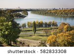 River Sava And Danubein...