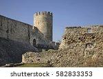Small photo of Despot Gate in Kalemegdan fortress. Belgrade. Serbia