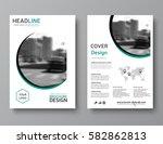 business brochure template.... | Shutterstock .eps vector #582862813