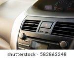 car console  | Shutterstock . vector #582863248