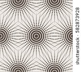 seamless geometric pattern.... | Shutterstock .eps vector #582873928