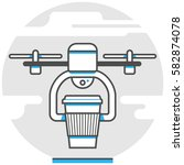 drone delivery   infographic...