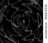 abstract grunge grid polka dot... | Shutterstock .eps vector #582876520