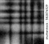 abstract grunge grid polka dot... | Shutterstock .eps vector #582876529