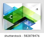 abstract background with color... | Shutterstock .eps vector #582878476