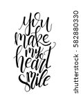 poster with typographical quote.... | Shutterstock .eps vector #582880330