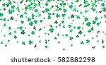 Irish Clover Leaves Pattern Fo...