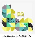 vector modern elegant circle...   Shutterstock .eps vector #582886984