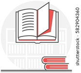 library   infographic icon...