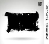brush stroke and texture.... | Shutterstock .eps vector #582922504