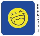 smiley sticker icon | Shutterstock .eps vector #582923779