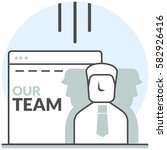 our team   infographic icon...
