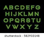 alphabet  | Shutterstock .eps vector #582933148