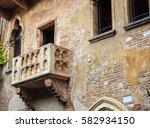 Juliet's Balcony In Verona...