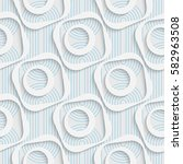 seamless geometric pattern.... | Shutterstock .eps vector #582963508
