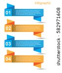 modern design template  can be... | Shutterstock .eps vector #582971608
