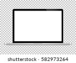 notebook. vector. realistic... | Shutterstock .eps vector #582973264