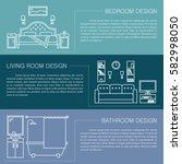 modern brochure flyer design... | Shutterstock .eps vector #582998050
