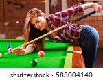 competition concept. young... | Shutterstock . vector #583004140