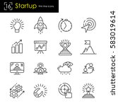 start up business and new... | Shutterstock .eps vector #583019614