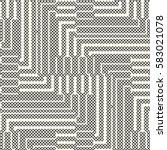 abstract mesh textured... | Shutterstock .eps vector #583021078