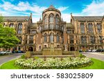 university of glasgow  scotland ... | Shutterstock . vector #583025809