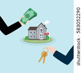 real estate concept....   Shutterstock .eps vector #583052290
