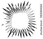 distress edge overlay texture.... | Shutterstock .eps vector #583084060