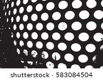 abstract overlay dotted grunge... | Shutterstock .eps vector #583084504