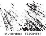 grunge old wood black cover... | Shutterstock .eps vector #583084564