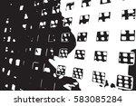 distress abstract overlay... | Shutterstock .eps vector #583085284